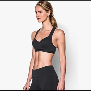 Under Armour Black Moulded High Support Bra 38C
